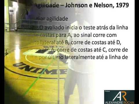 Teste de Agilidade -- Johnson e Nelson, 1979