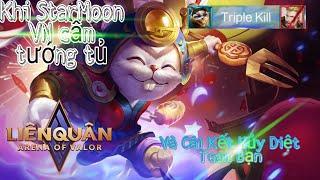 Liên Quân | Slimz - Thỏ Thợ Mỏ Trong Tay của StarMoon VN & Cái Kết Gánh Team Cực Gắt !!!