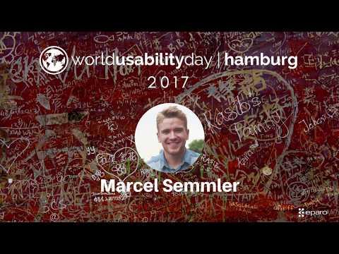 World Usability Day (WUD) Hamburg 2107 - Marcel Semmler - Product Mindset