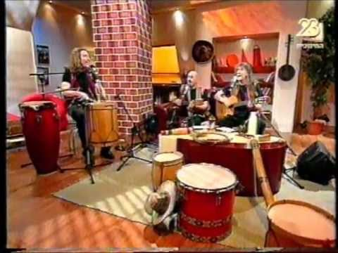 Trio Indio Israel en tv Duet Israeli 1er. parte.musica sudamericana
