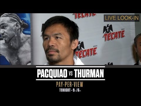 ALL-ACCESS With Manny Pacquiao And Keith Thurman | PBC ON FOX