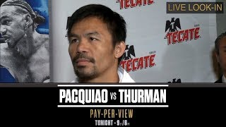 ALL-ACCESS with Manny Pacquiao and Keit...