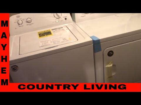 Samsung LG washer and dryer review