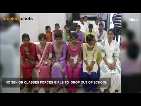 No Class 11 and 12, Girls drop out of Hisar School