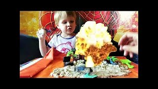 Пираты против рыцарей - Макс играет в игрушки - видео для детей