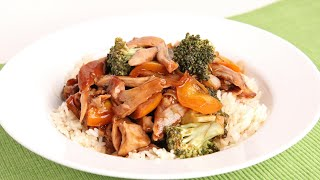 Crock Pot Teriyaki Chicken Recipe - Laura Vitale - Laura in the Kitchen Episode 965