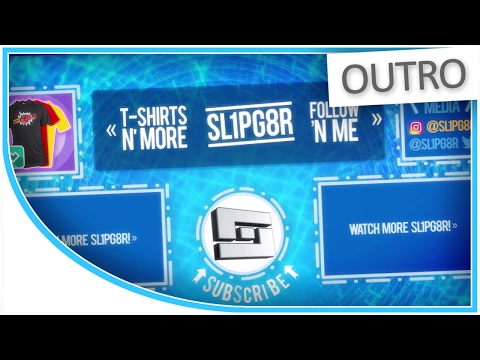 [OUTRO] @Sl1pg8r's YouTube Outro/Endscreen Design - Custom Music! - Moving Outlines
