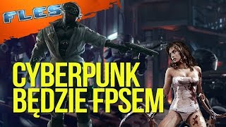 Cyberpunk będzie FPS-em! Nowe informacje o Cyberpunku 2077