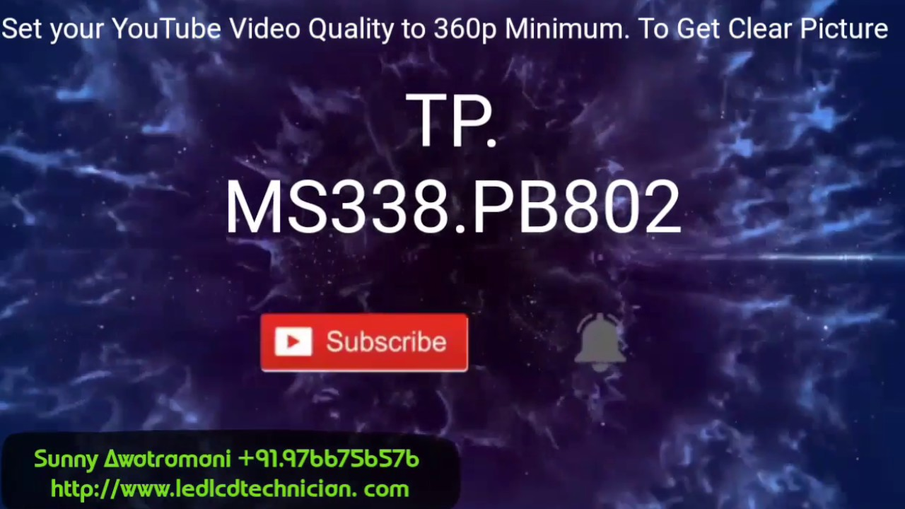TP MS338 PB802 Firmware Installation
