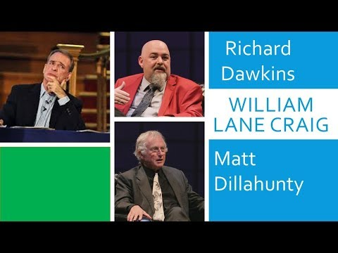 Try not to laugh, Richard Dawkins and Matt Dillahunty are not talking about William Lane Craig !!!