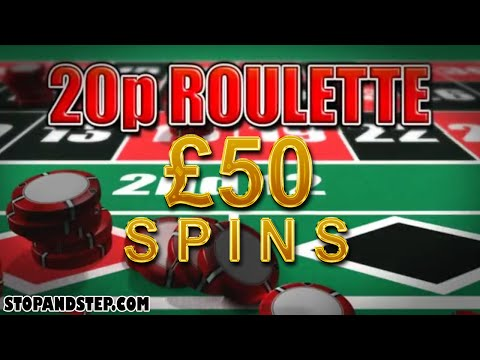 20p Roulette £50 Spins on Betting Terminal Roulette Machine