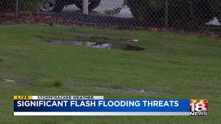 Significant flash flooding threats throughout eastern Kentucky
