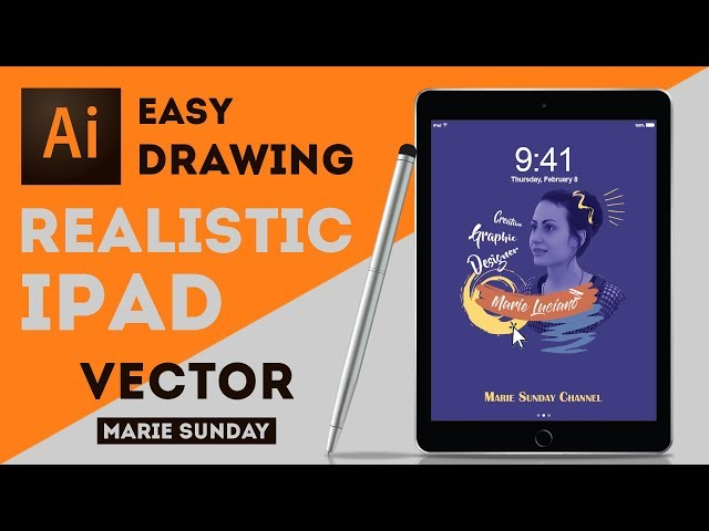 How to Draw a Realistic iPad in Illustrator CC