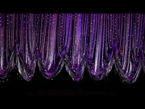 DMX Winches Controlling A Contour Curtain