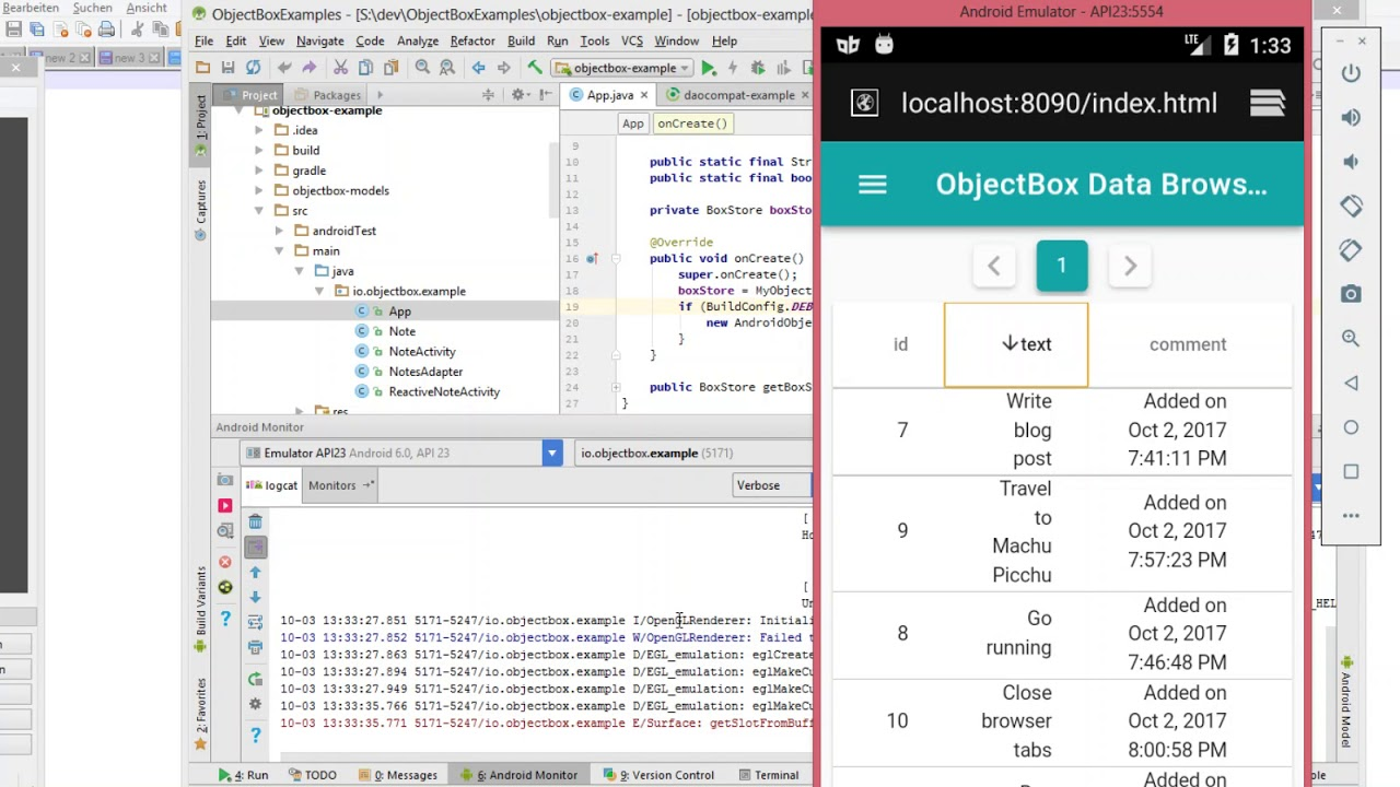 ObjectBox 1 1 introduces Data Browser - ObjectBox