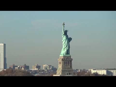 New York arriving into Manhattan by ship November 2016 on Navigator of the Seas