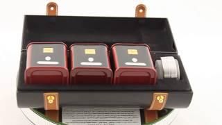 Borealy - Ceai Dammann Leather Tube(Setul de ceai Dammann Leather Tube este alcătuit dintr-o cutie elegantă din piele, un infuzor sub formă de linguriţă şi trei recipiente metalice cu câte 30 de ..., 2013-05-30T08:52:59.000Z)