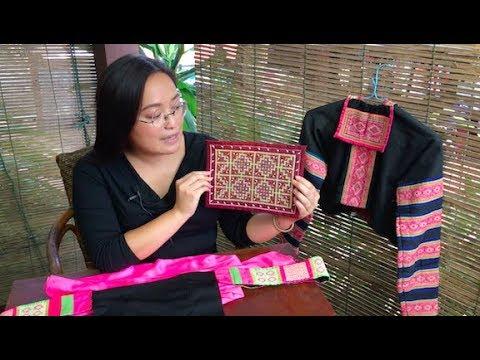 "Hmong Textile Art or ""Flower Cloth""."