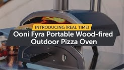 Introducing Ooni Fyra - Ooni CEO, Kristian Tapaninaho Makes Pizza in Real Time with Ooni Fyra