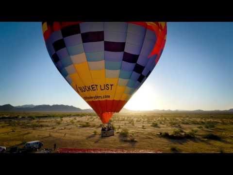 Balloon ride Arizona tourism 01
