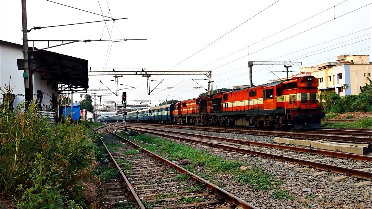 ALCO Twins | Chugging | RJT SC | Indian trains