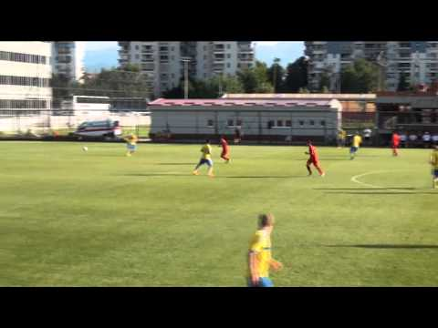 (U18) Macedonia 0 - 1 Sweden 09.06.2015
