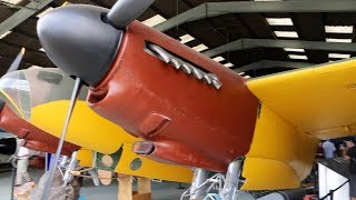 DH Mosquito Leading Edge Slats at de Havilland Aircraft Museum Salisbury Hall England - 2018