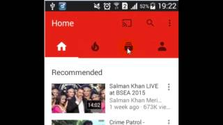 How to unsubscribe a channel in Youtube android app
