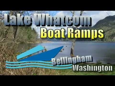 Lake Whatcom Boat Launch Boat Ramp - East And South Of Bellingham Washington Is Lake Whatcom