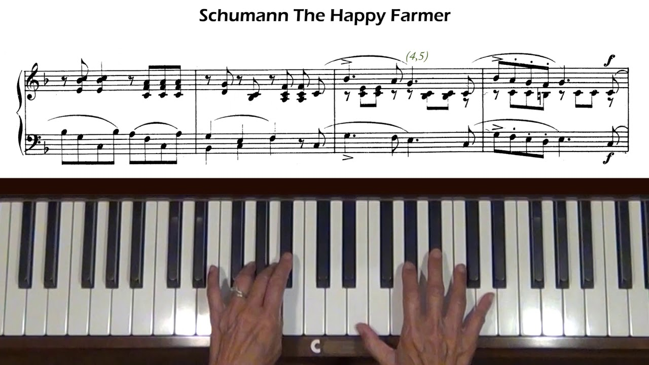 The Happy Farmer (from Album for the Young, Op. 68, No. 10)