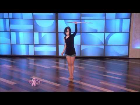 Hoop Dance on Ellen
