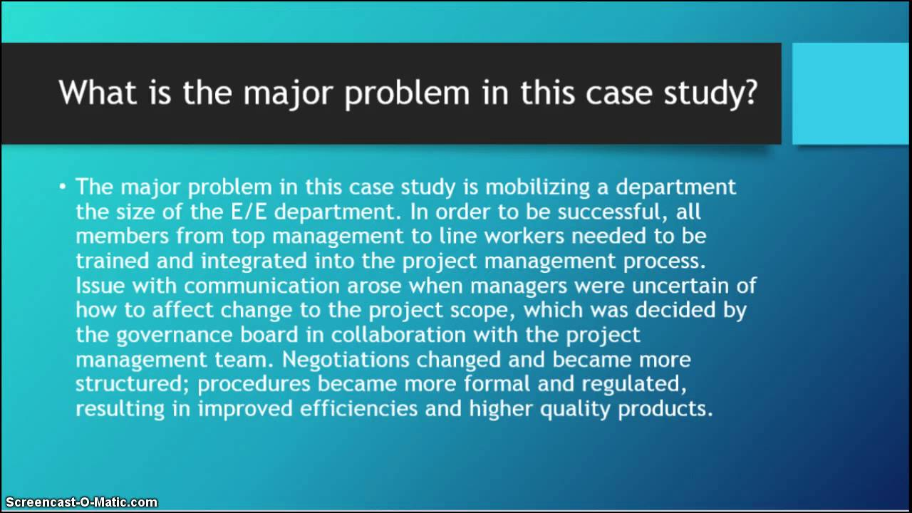 ford case study Using plm technology to manage in-vehicle software, ford has greatly reduced repair work and is setting the stage for additional savings through software re-use.