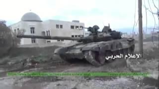 Уличные бои за город Ретьяна в пригороде Алеппо