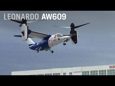 AgustaWestland AW609 Test Pilot Describes What its Like to Fly a Tiltrotor – AINtv