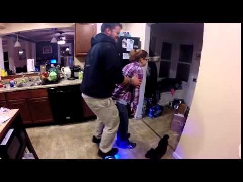 Hoverboard dry hump ( busted )