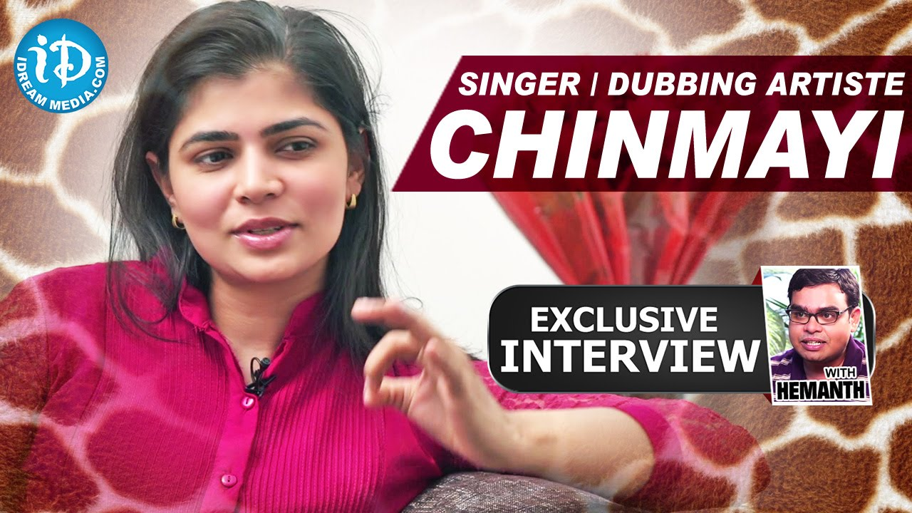Playback Singer/Dubbing Artiste Chinmayi | Exclusive Interview | Talking  Movies With iDream # 26