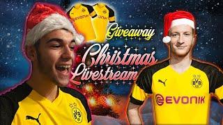 🔴 Marco Reus Giveaway Christmas Livestream!🎅🏼 /w Reusko