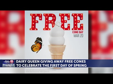 Get a free ice cream cone at Dairy Queen to celebrate the first day of Spring