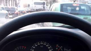 Лада Калина, скрип колодок.wmv