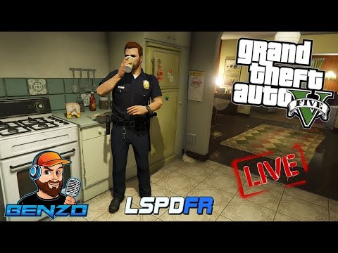 GTA 5 LSPDFR - City Patrol with new callouts - Live Stream!