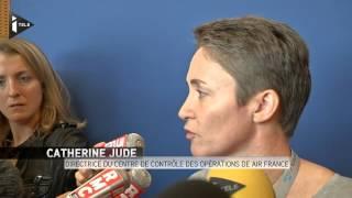 Air France : la moitié des vols supprimés