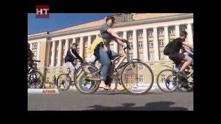видео 20 мая на работу на велосипеде