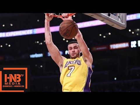 Los Angeles Lakers vs Indiana Pacers 1st Half Highlights / Jan 19 / 2017-18 NBA Season