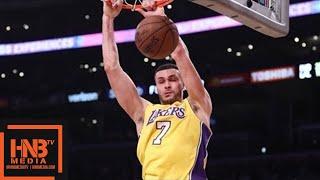 Los Angeles Lakers vs Indiana Pacers 1st Half Highlights / Jan 19 / 2017-18 NBA Season