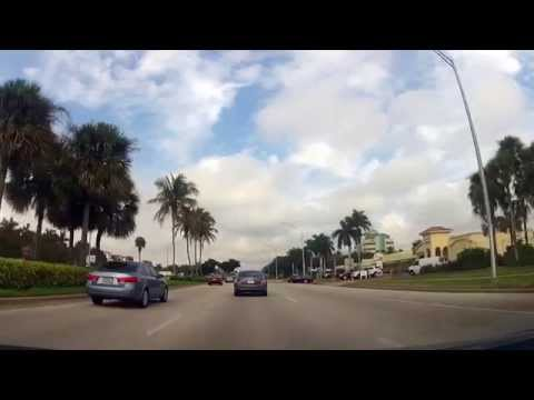 Driving from Tin City to the Mercato in Naples, Florida