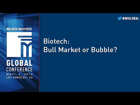 Biotech: Bull Market or Bubble?