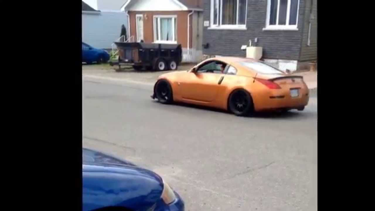 Nissan 350Z Rev and Take off