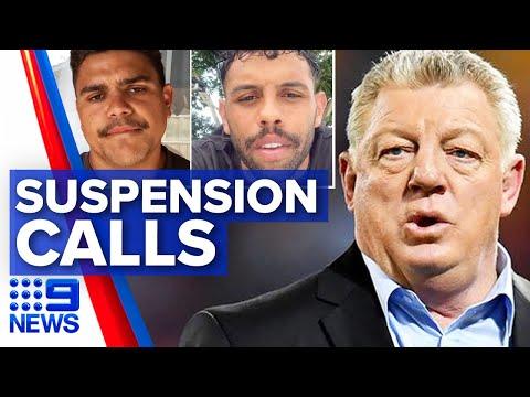 Phil Gould: NRL should suspend Latrell Mitchell, Josh Addo-Carr | Nine News Australia