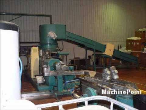 EREMA second hand machine Single screw repelletizing line MachinePoint