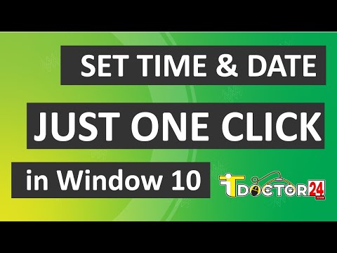 How to Set Time & Date in Windows 10 || কিভাবে Time & Date ঠিক করবেন